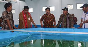 Peresmian Kawasan Hatchery Ikan Laut Modern