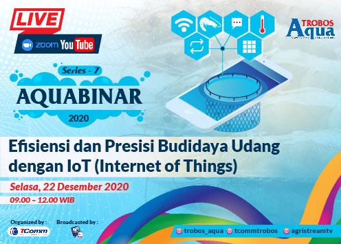 Aquabinar Series 7: Efisiensi dan Presisi Budidaya Udang dengan IoT (Internet of Things)