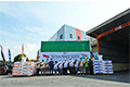 STP Ekspor Perdana Pakan Udang ke India