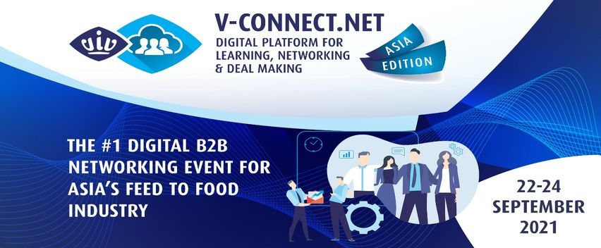 V-Connect Asia Edition, Platform Digital Expo Industri Feed to Food