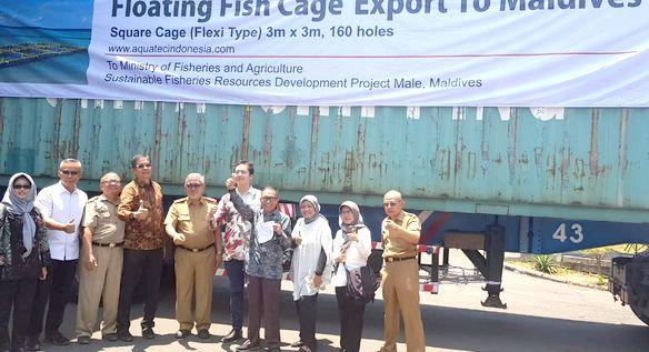 Aquatec Ekspor KJA ke Maldives