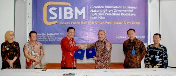 Hilirisasi Inovasi Teknologi Ikan Hias