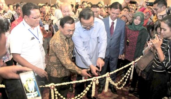 Edhy Prabowo Membuka Aquatica Asia dan Indoaqua 2019