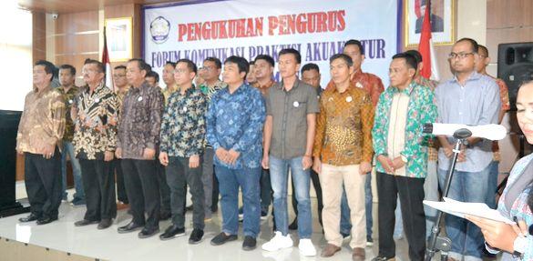 Pengukuhan Pengurus FKPA, Rumah Bagi Pembudidaya Udang dan Ikan