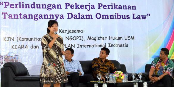Surati Jokowi, Kiara Tolak RUU Omnibus
