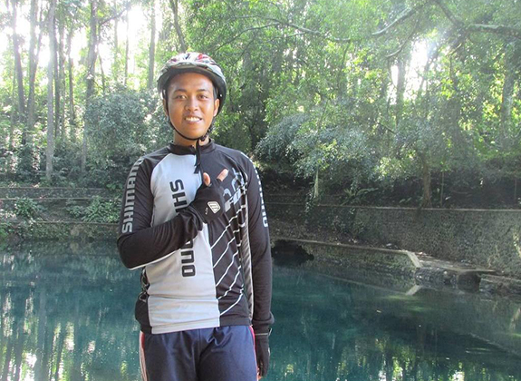 Muchammad Rizqi Windu Pratama, Nyaman Bekerja di Tambak
