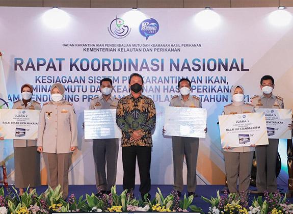 BKIPM Siaga Dukung Keberhasilan Perikanan Indonesia